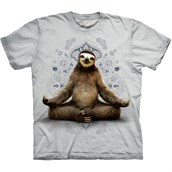 Vriksasana Sloth T-shirt Adult
