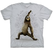 Warrior Sloth T-shirt Adult