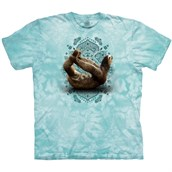 Dhanurasana Sloth T-shirt Adult