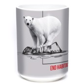 Habitat Polar Bear Ceramic Mug, 4,4 dl.