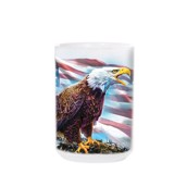 American Eagle Flag Ceramic Mug