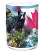 Canada the beautiful Ceramic Mug, 4,4 dl.
