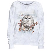 Country Owl Slouchy Crew