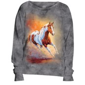 Sunset Gallop Slouchy Crew