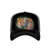 Painted Cheetah Trucker Cap