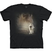 Grey Wolf Portrait T-shirt