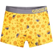 Good Mood Boys Fitted Trunks - CHEESE