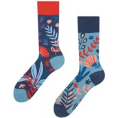 Good Mood adult bamboo socks - CORAL, size 35-38