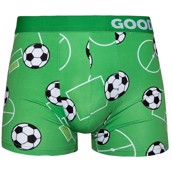 Good Mood Mens Fitted Trunks - FOOTBALL