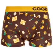Good Mood Mens Fitted Trunks - HIKING
