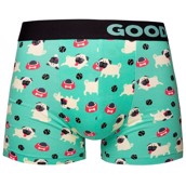 Good Mood Mens Fitted Trunks - PUG