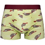 Good Mood Mens Fitted Trunks - SLOTH