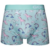 Good Mood Mens Fitted Trunks - UNICORN