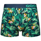 Good Mood Mens Fitted Trunks - TIGER