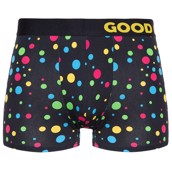 Good Mood Mens Fitted Trunks - NEON DOTS
