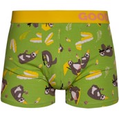 Good Mood Mens Fitted Trunks - PARTY SLOTH