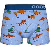 Good Mood Mens Fitted Trunks - FISHERY