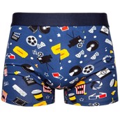 Good Mood Mens Fitted Trunks - MOVIES