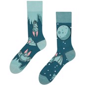 Good Mood adult socks - BATS IN THE NIGHT, size 35-38