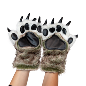Wolf Paw Mitts, Child Medium