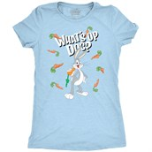 Carrot Bugs Bunny, Ladies T-shirt Adult