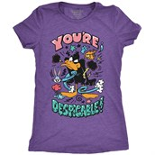 Despicable Daffy, Ladies T-shirt Adult