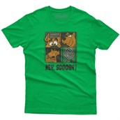 Hey Scooby! T-shirt, Adult