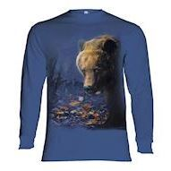 Foraging Bear long sleeve