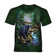 Black Bear Forest t-shirt