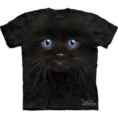 Black Kitten Face t-shirt