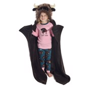 Buffalo Critter Fleece Blanket