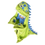 Dinosaur Critter Fleece Blanket