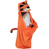 Tiger Critter Fleece Blanket