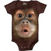 Orangutan Baby Face Bodystocking