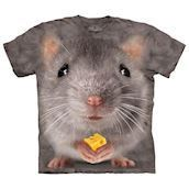 Big Face Grey Mouse t-shirt