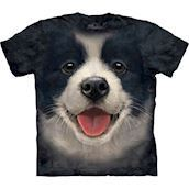 Big Face Border Collie Puppy t-shirt