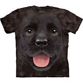 Big Face Black Lab Puppy  t-shirt