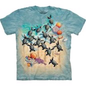 Green Turtle Hatchlings t-shirt