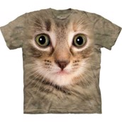 Kitten face t-shirt