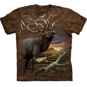 Elk at Dusk t-shirt