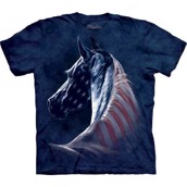 Patriotic Horse head t-shirt