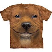 Big Face Pitbull Puppy t-shirt