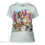 Kittens Selfie ladies t-shirt