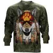 Native Wolf Spirit long sleeve