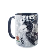 White Tiger Face Ceramic mug