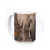 Elephant Face Ceramic mug