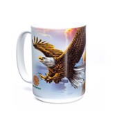 Eagle and Clouds Ceramic mug