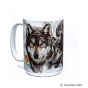 Eclipse Wolves Ceramic mug