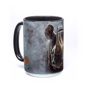 Black Rhino Ceramic mug