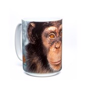 Chimp Face Ceramic mug